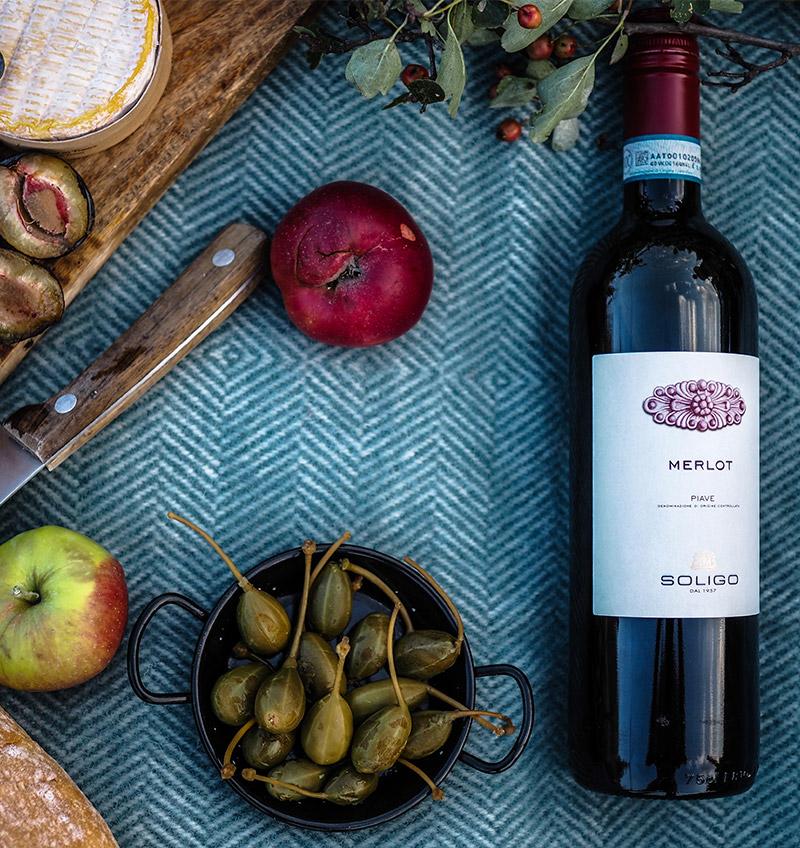 Víno a občerstvení