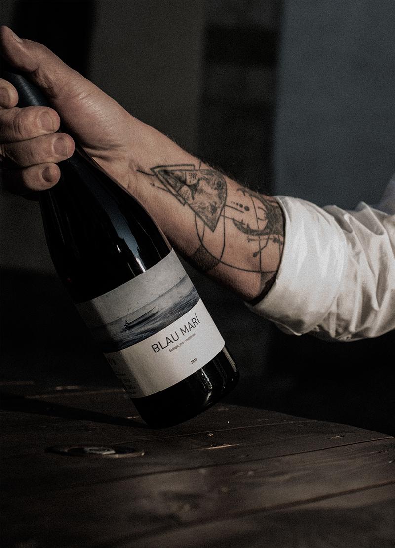 Blau marí víno